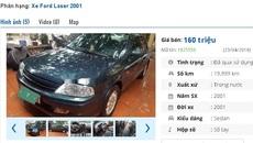 Những chiếc ô tô Ford cũ này đang rao bán tầm giá 200 triệu tại Việt Nam