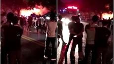 Nhà hàng karaoke ở TQ bị phóng hỏa, thương vong cao