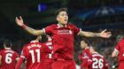 Salah và Firmino rực sáng, Liverpool đè bẹp AS Roma