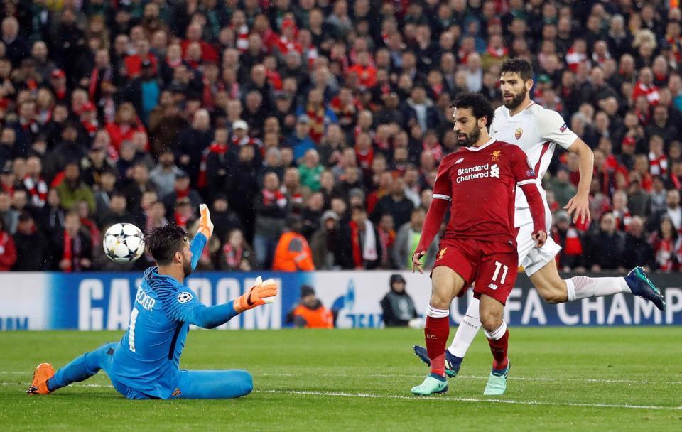 AS Roma,Liverpool,De Rossi,Salah