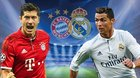 Bayern Munich vs Real Madrid: Ronaldo đọ súng Lewandowski