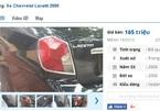 Những chiếc ô tô Chevrolet cũ rao giá dưới 200 triệu tại Việt Nam