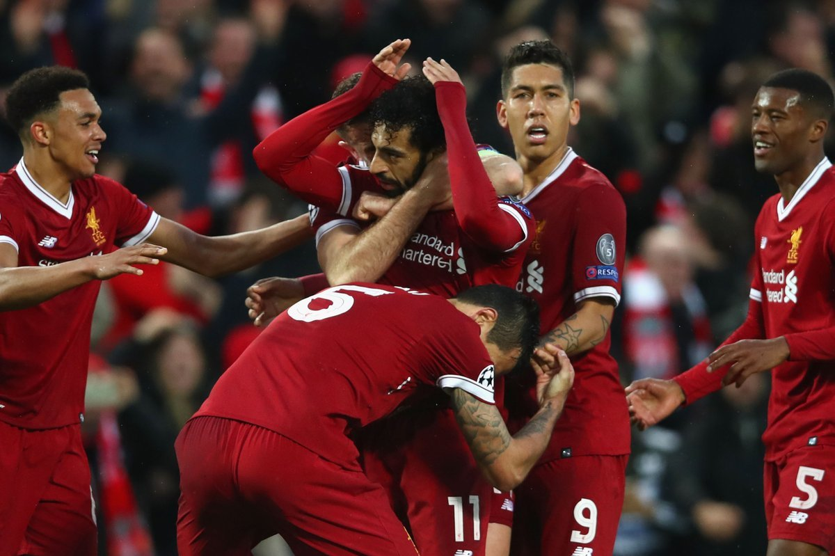 Liverpool,AS Roma,Salah,Firmino,Champions League,Cúp C1