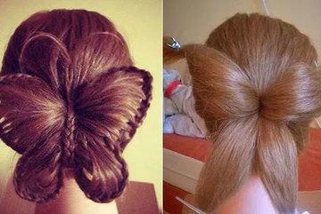 Khi con trai trong lớp trổ tài tết tóc