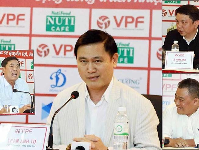 HAGL,bầu Đức,ban trọng tài,VPF,Trưởng ban trọng tài Nguyễn Văn Mùi