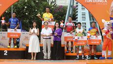 Giải xe đạp TH TPHCM: Nguyễn Thành Tâm tiếp tục tỏa sáng