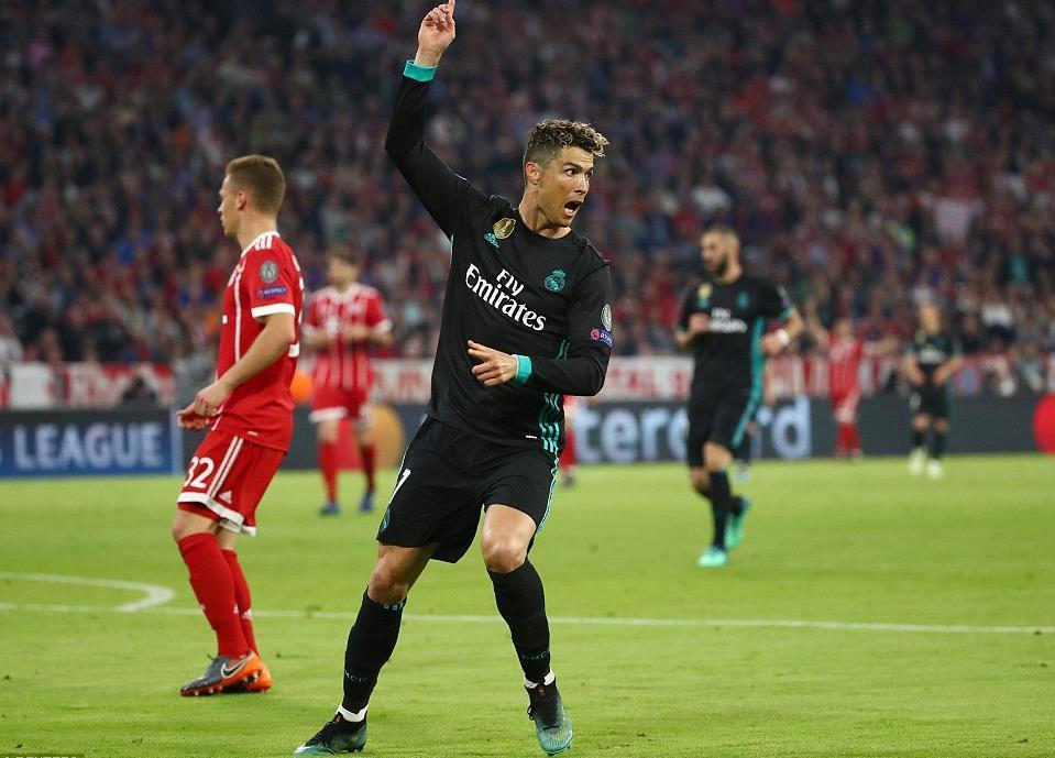 Bayern Munich,Real Madrid,Ronaldo