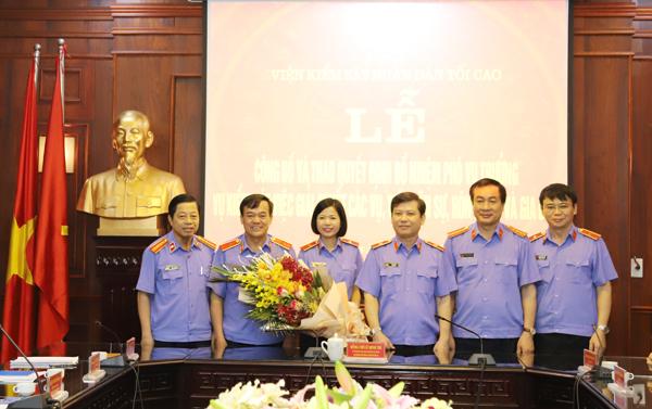 Nhân sự mới 2 cơ quan Trung ương và một số địa phương