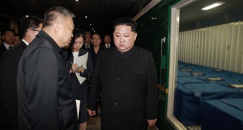 Kim Jong Un tiễn tàu chở thi thể du khách TQ về nước