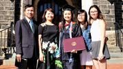 Hành trình đáng nể nuôi 3 con gái thành công ở xứ người