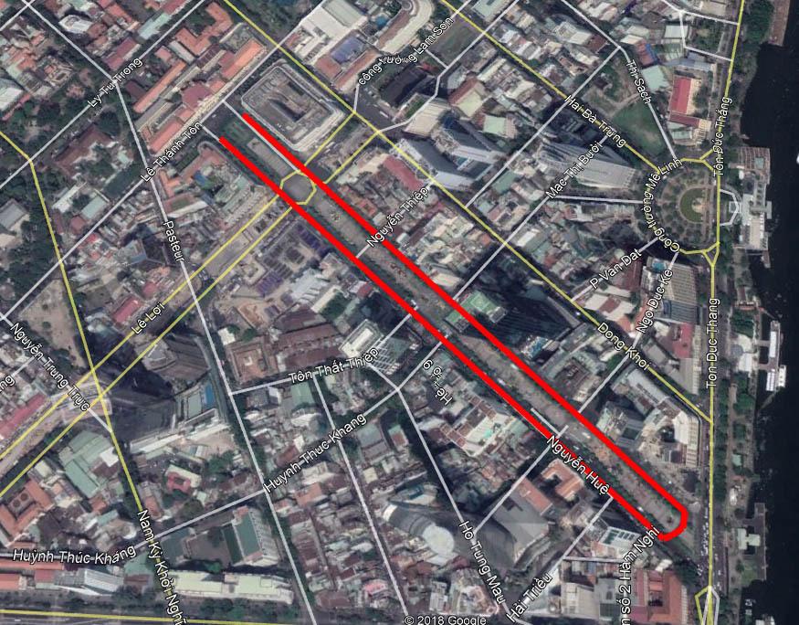 Hàng loạt đường ở trung tâm TP.HCM bị cấm xe phục vụ lễ 30/4
