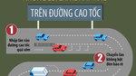Cẩn thận với những lỗi tài xế Việt hay mắc trên cao tốc