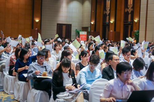 Các cổ đông tham dự đại hội đã nhất trí thông qua nhiều nội dung quan trọng với tỷ lệ tán thành đều trên 97%