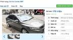 Những chiếc ô tô Kia cũ số tự động rao giá 200 triệu tại Việt Nam
