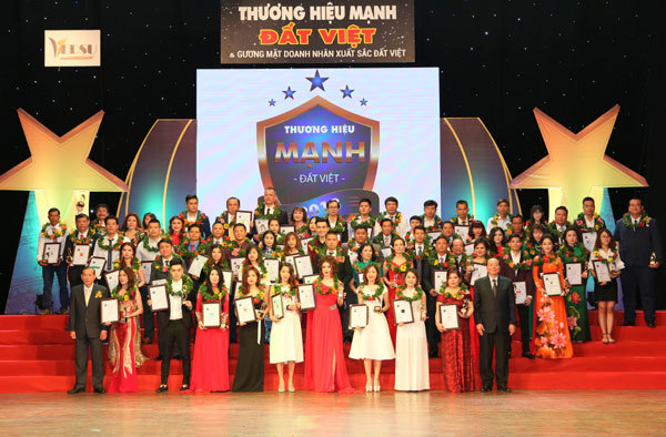 Hải Phát Invest vào top 10 thương hiệu mạnh Đất Việt 2018