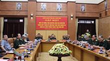 Cuộc gặp của Bộ trưởng Quốc phòng và một số tướng lĩnh