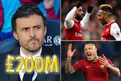 "Luis Enrique muốn bơm 200 triệu bảng ""đại phẫu"" Arsenal"