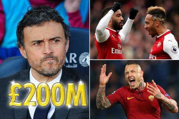 Luis Enrique muốn bơm 200 triệu bảng 'đại phẫu' Arsenal