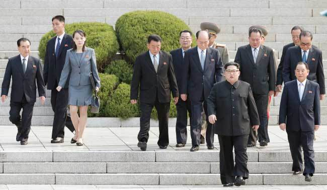 Kim Yo-jong,thượng đỉnh liên Triều,em gái Kim Jong Un,Hội nghị thượng đỉnh,Triều Tiên,Hàn Quốc,Kim Jong Un,Moon Jae In