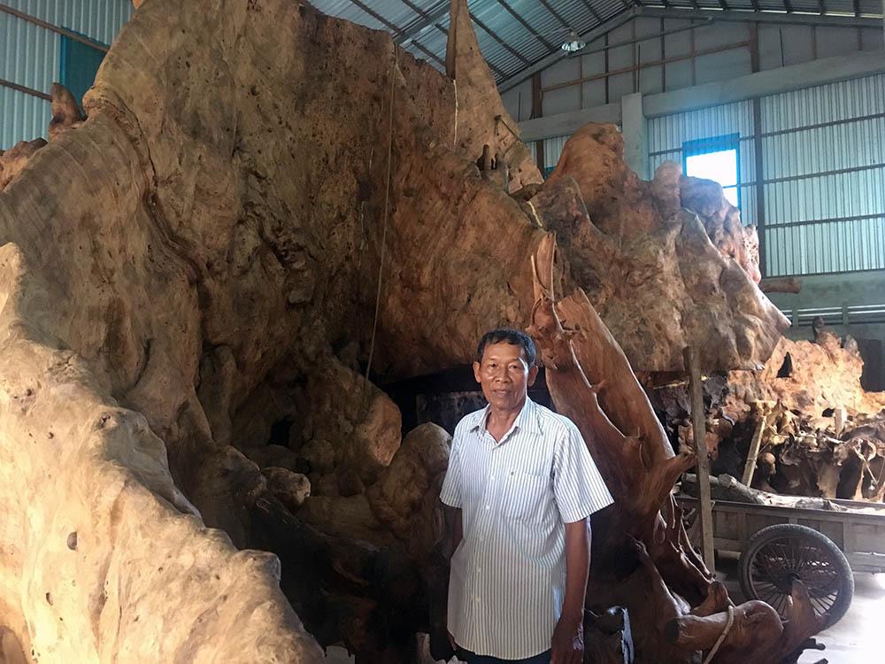 Miễn cưỡng mua gốc cây 35 triệu, nào ngờ được báu vật 35 tỷ
