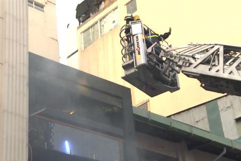Nhà hàng trung tâm Sài Gòn bốc cháy