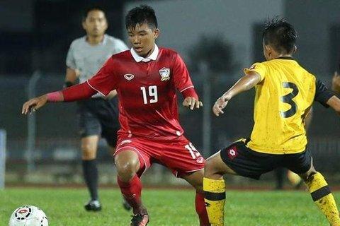 U21 Thái Lan 1-2 U21 Brunei