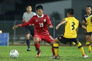 U21 Thái Lan thua sốc U21 Brunei, xếp dưới cả Đông Timor