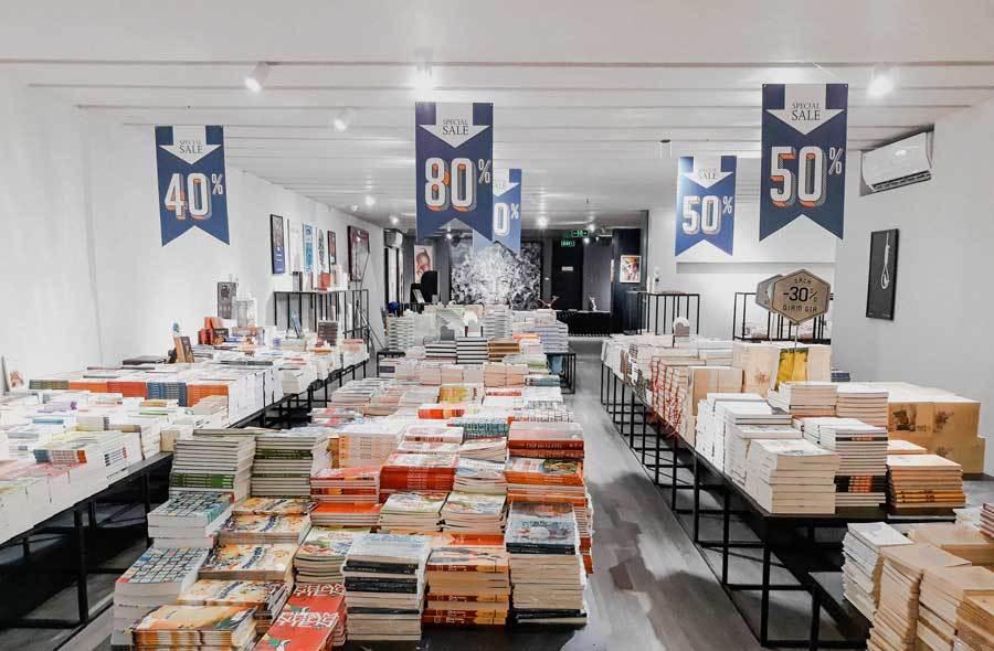 Tháng sách kinh điển, có 8 nghìn đồng là có sách