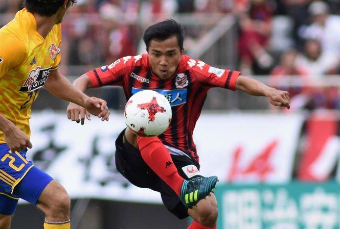 Messi,Công Vinh,tuyển Thái Lan,Consadole Sapporo