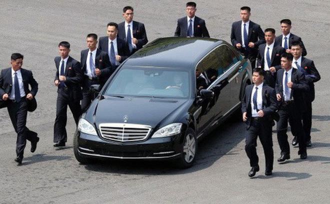 'Soi' ô tô đặc biệt không biển số của lãnh đạo Triều Tiên