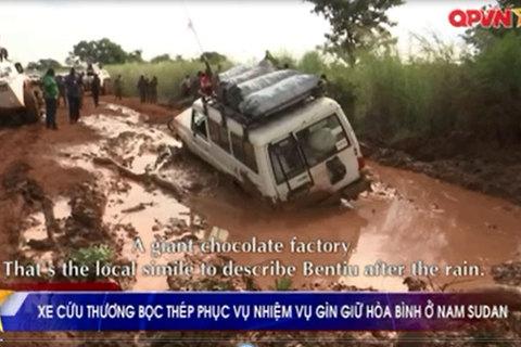 Xe thiết giáp Việt Nam tham gia Lực lượng Gìn giữ hòa bình Liên hợp quốc