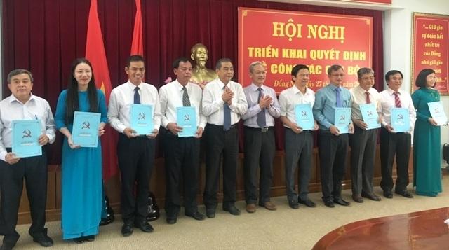 Đồng Nai thay hàng loạt lãnh đạo cấp huyện