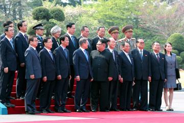 Những tình huống bất ngờ tại hội nghị thượng đỉnh liên Triều