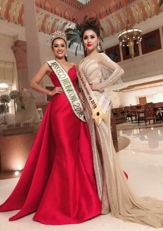 Thư Dung,Miss Eco International