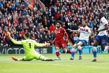 Salah tịt ngòi, Liverpool bị Stoke níu chân