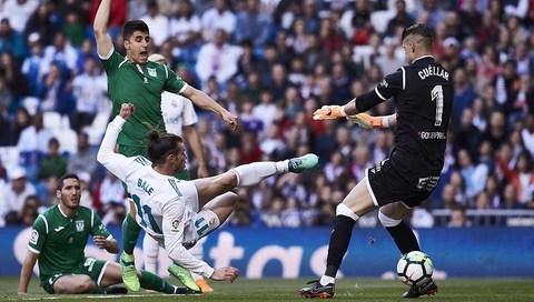 Real Madrid 2-1 Leganes