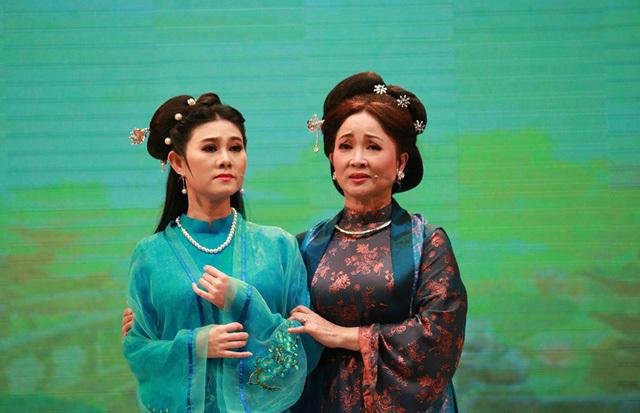 Nghệ sĩ cải lương hai miền hội tụ trong vở 'Thầy Ba Đợi'