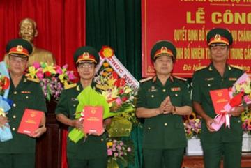 Tòa án Quân sự TƯ trao quyết định bổ nhiệm cán bộ