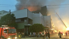 Cháy lớn tại khu công nghiệp ở Đài Loan có nhiều người Việt