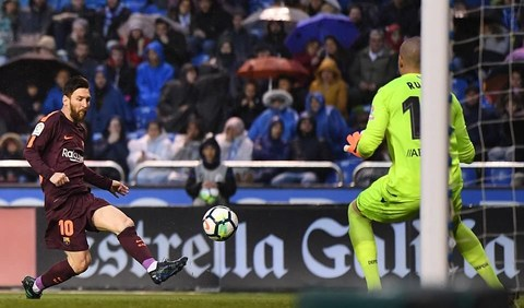 Deportivo 2-4 Barca