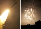 Loạt tên lửa bí ẩn dội xuống các căn cứ quân sự Syria
