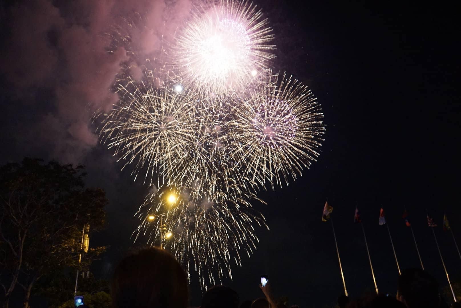 pháo hoa,Sài Gòn,lễ 30/4,bắn pháo hoa