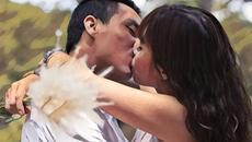 MC Hoàng Linh khoe ảnh hôn say đắm chồng sắp cưới