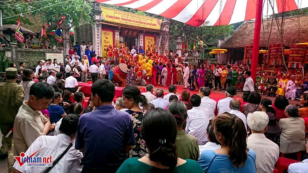 lễ hội 2018,Hà Nội,đình Kim Liên
