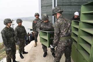 Triều-Hàn bắt đầu tháo loa tuyên truyền dọc biên giới