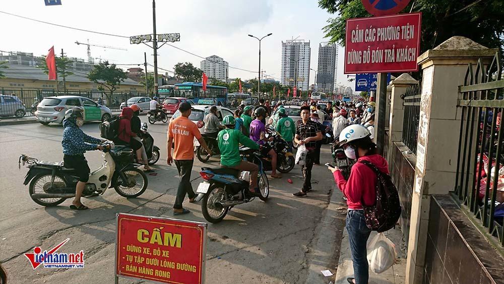 tắc đường,Hà Nội,nghỉ lễ