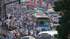 Kẹt xe kinh hoàng ở cửa ngõ Đông Sài Gòn sau nghỉ lễ