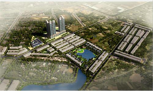 Khu đô thị phong cách Nhật kiểu mẫu ở Vĩnh Yên