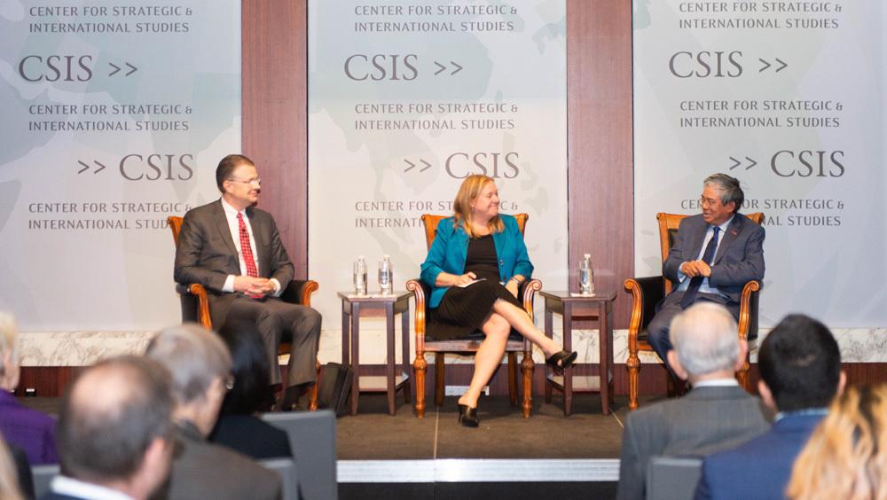 Đại sứ Việt - Mỹ tham gia đối thoại về quan hệ song phương