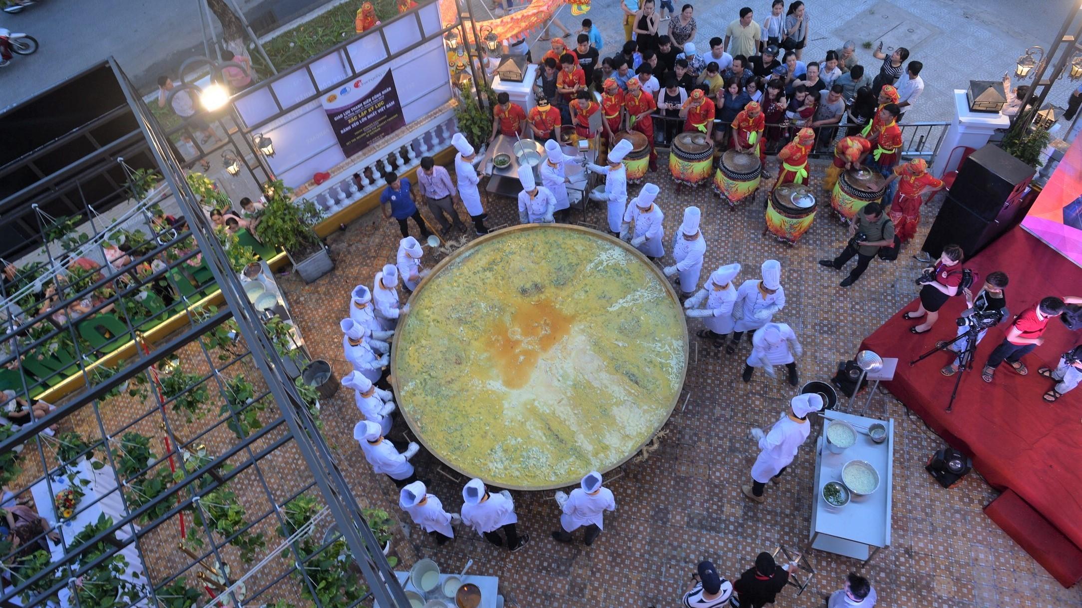 bánh xèo,kỷ lục Việt Nam
